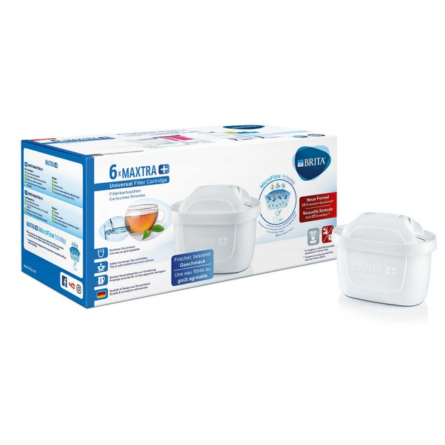 Brita Maxtra+ Waterfilter 6-Pack