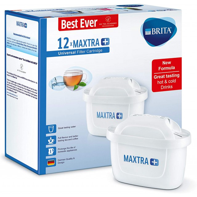 Brita Maxtra+ Waterfilter 12-Pack
